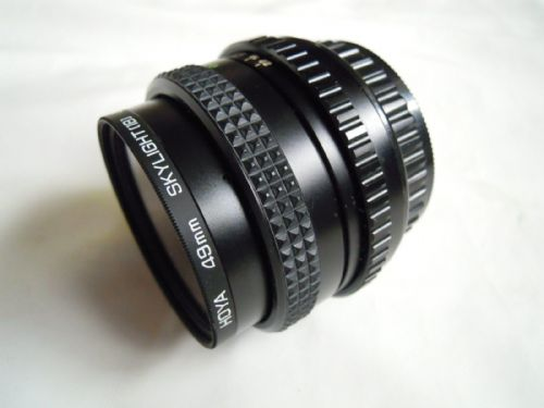 COSINA PENTAX FIT 28MM F2.8 MC LENS